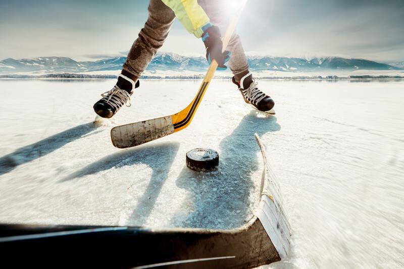 Spela på ishockey
